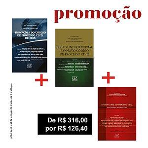 INOVAÇÕES DO CPC + DIREITO INTERTEMPORAL + TEORIA GERAL DO PROCESSO CIVIL