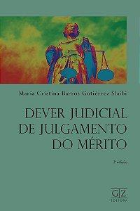 Dever Judicial de Julgamento do Mérito - 2ª Edição