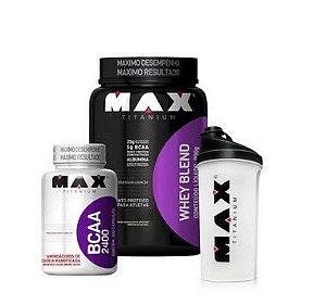 Whey Blend + BCAA - Max Titanium
