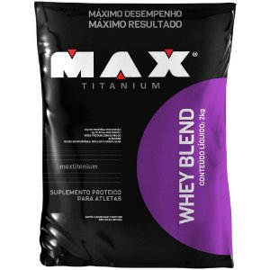 Whey Blend (2KG) - Max Titanium