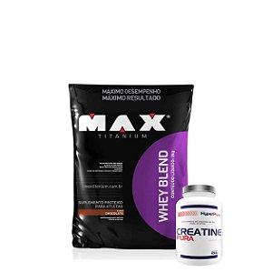 Whey Blend 2kg + C. (100g) - Max Titanium