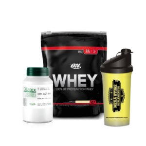 Combo - Whey ON + Dilatex + Coqueteleira
