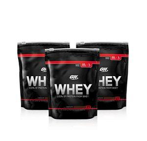 3x 100% Whey ON - Optimum Nutrition