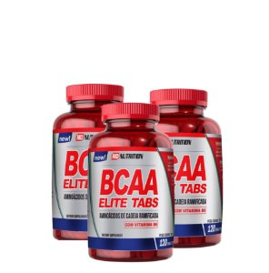 3x BCAA ELITE TABS - 120 CAPS