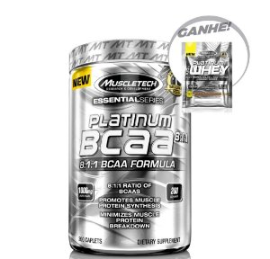 BCAA 8:1:1 (200 tabs) - Muscle Tech Platinum