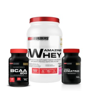 100% Amazing Whey Combo - Bodybuilders