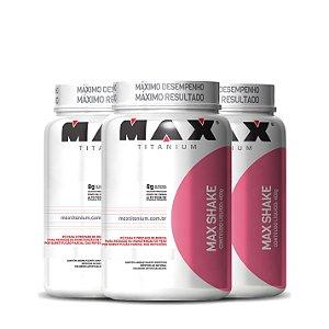 3x Max Shake (400g cada) - Max Titanium