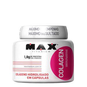 Colageno (100 Caps) - Max Titanium