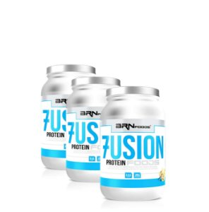 3x Fusion Protein Whey - BRN Foods