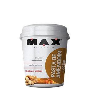 Pasta de Amendoim (1,05kg) - Max Titanium
