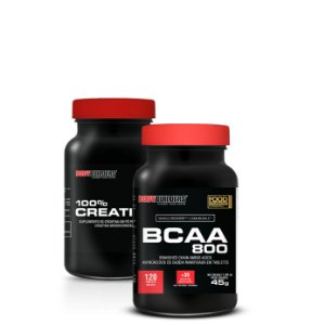 Crea (100G) + BCAA 800 (120Caps) - Bodybuilders