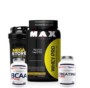 WHEY MAX PRO (1KG) COMBO - MAX TITANIUM