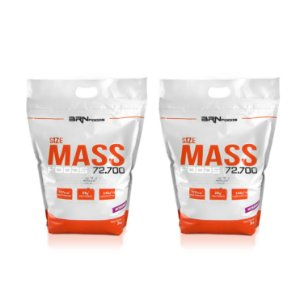 2x Size Mass (3kg) - BRN Foods