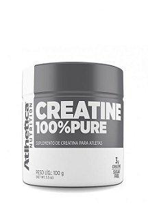 Crea. 100% Pure (100g) - Atlhetica