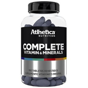 Complete Vitamin & Minerals (100 tabs) - Atlhetica Nutrition