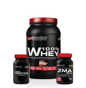 Whey 100% + Zma Combo - Bodybuilders