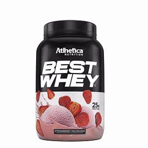 Best Whey (900g) Atlhetica Nutrition - Strawberry Milkshake