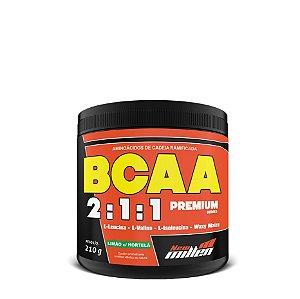 BCAA 2:1:1 (210G) - Limão c/ Hortelã - NEW MILLEN