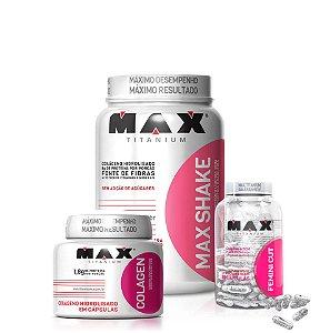 Combo Seca Max - Max Titanium