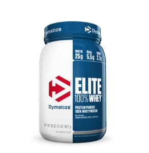Elite 100% Whey Protein (2lbs/907g) - Dymatize Nutrition