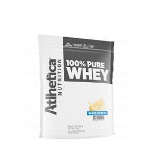 100% Pure Whey (850g) Baunilha - Atlhetica Nutrition