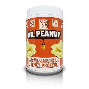 Pasta de Amendoim Chocolate Branco com Whey Protein (1kg) - Dr. Peanut
