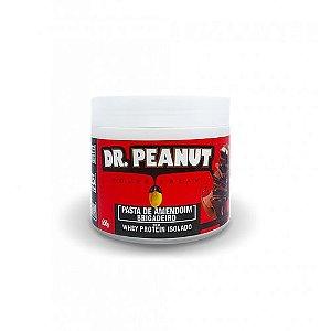 Pasta de Amendoim Brigadeiro com Whey Protein (500g) - Dr. Peanut
