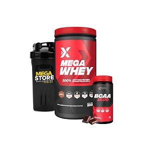 Mega Whey e BCAA Combo - Expand Nutrition