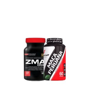 ZMA + Maca Peruana Combo