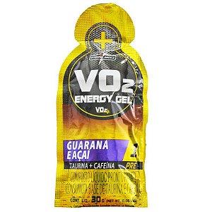 VO2 ENERGY GEL (PRÉ-TREINO) (CX 10 Unidades)