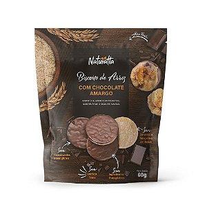 Biscoitos de Arroz (chocolate amargo) Naturatta
