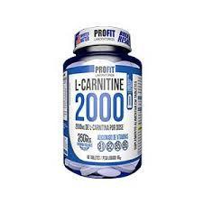 L-carnitina 2000 60caps - Profit
