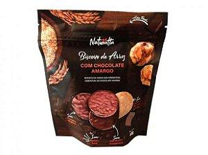 Biscoito de Arroz com chocolate amargo  (Naturatta) (60g)