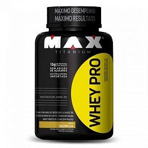 Whey Pro - Max Titanium 1kg