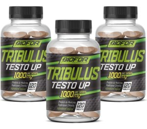3x Tribulus terrestris - 120 tablets - 1000 mg