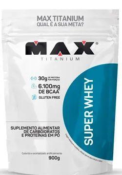 Super Whey 900Gr Refil Max Titanium - Baunilha