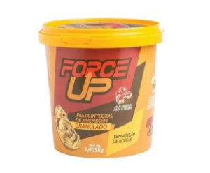 Pasta De Amendoim Integral Granulado Force Up Balde 1kg