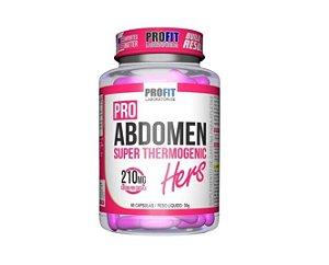 Pro Abdomen Hers 210mg Termogênico - 60 Capsulas - Profit