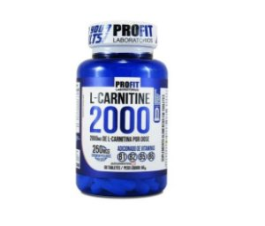 L- Carnitina 2000mg 60 Tabletes Termogênico - Profit