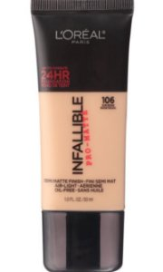 Base Demi Matte Finish Infallible pro Matte - Sun beige106