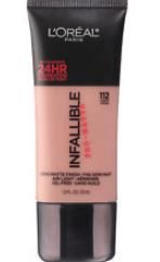Base Demi Matte Finish Infallible Pro Matte - Natural Bege 112