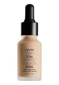 Base NYX Controle Total - Cor: Natural