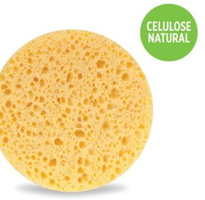 Esponja Esfoliante Facial - Celulose Natural