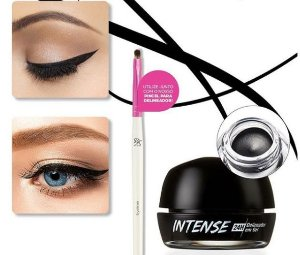 Delineador Gel Intense  - Preto Blackout 24 horas