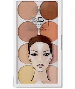 Paleta Highlighter 3D - Iluminadora