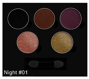 Paleta de Sombra - Glam Night - 01