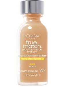Base Loreal Treu Match - Caramel Beige W7