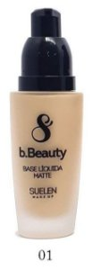 Base Líquida Beauty Suelen Makeup - Cor 01