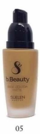 BASE LIQUIDA BEAUTY SUELEN MAKEUP - Cor 5