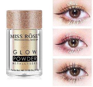 Pigmento Glow Powder - Miss Rôse - Várias Cores
